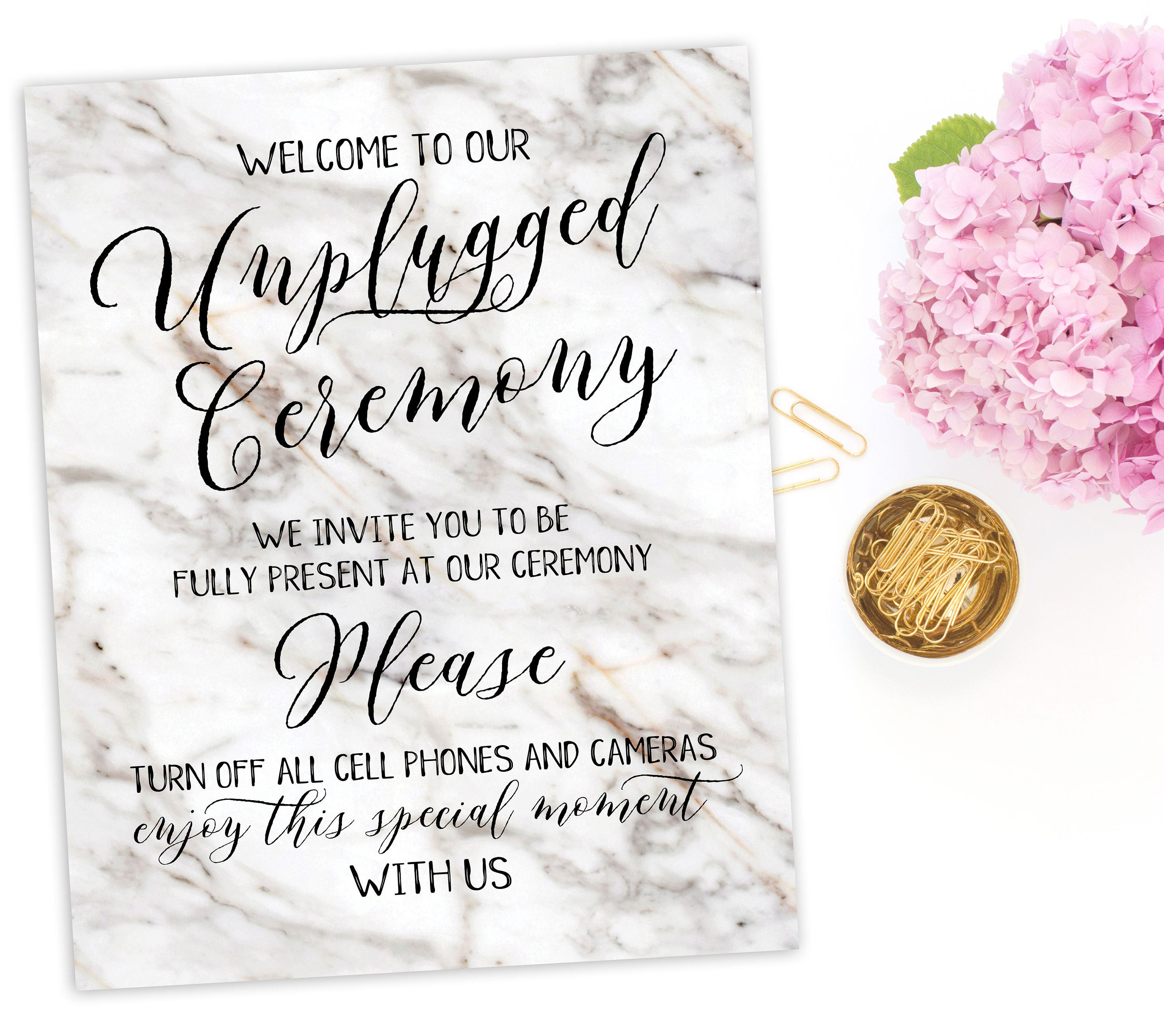 unplugged ceremony sign printable unplugged wedding sign no phones sign no cameras sign no cell phone