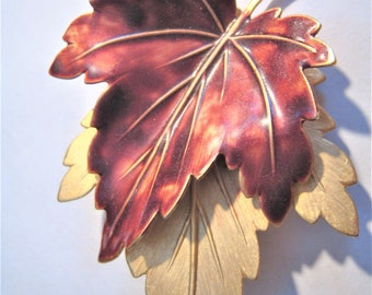 Autum Leaf Pin