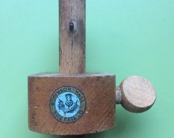 Vintage marking gauge , marking gauge , vintage gauge , vintage hand tool , vintage tools , marking tool , old tools , carpentry tools