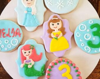 Princess cookies (12)