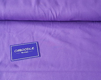 Purple, Cotton Lycra Jersey Knit Fabric