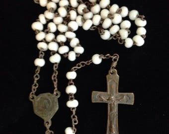Antique rosary.