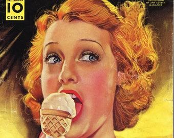 Modern Screen - Magazine - 1938 - Jeanette MacDonald
