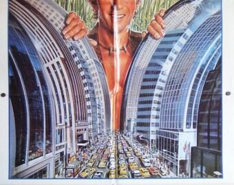 Crocodile Dundee - 1986 - Original US one sheet movie poster