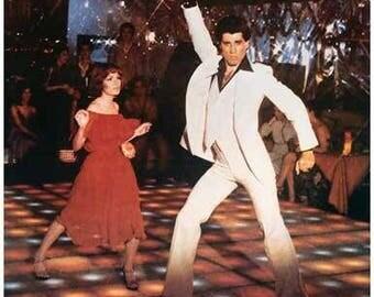 Saturday Night Fever Movie  Rare Vintage Poster