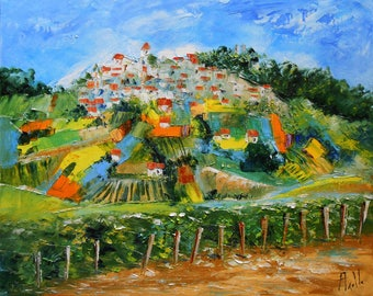 "Painting ""Near Sancerre"""