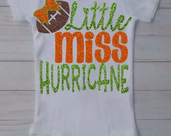Baby Hurricanes Outfit,  Hurricanes Outfit, Miami Hurricane Baby Outfit, Hurricanes Football, Kids Hurricanes Outfit,  Canes Outfit