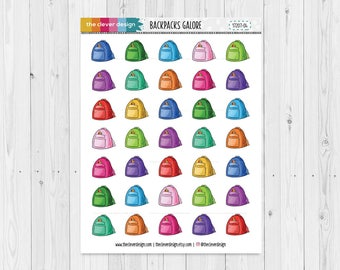 Backpack Planner Stickers (17207-04)