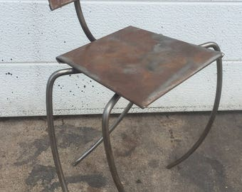 Metal Chair Sculpture