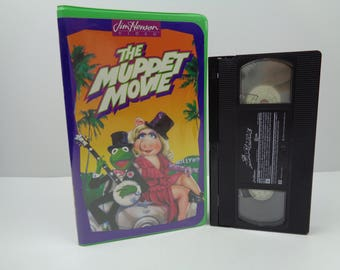 The Muppet Movie VHS Tape
