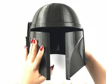 Boba Fett Helmet - Mandalorian Helmet - 3D Printed - Star Wars - DIY KIT