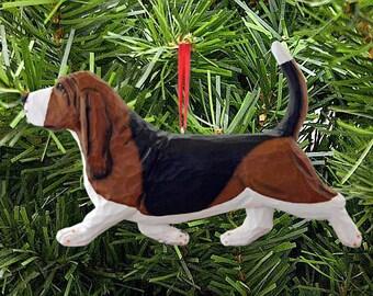 Basset Hound Ornaments-Dog Breed Ornaments-Basset Hound