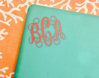 Personalized Monogram Decal-- FREE SHIPPING!