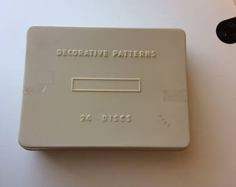 Decorative Pattern Sewing Machine Discs/Cams