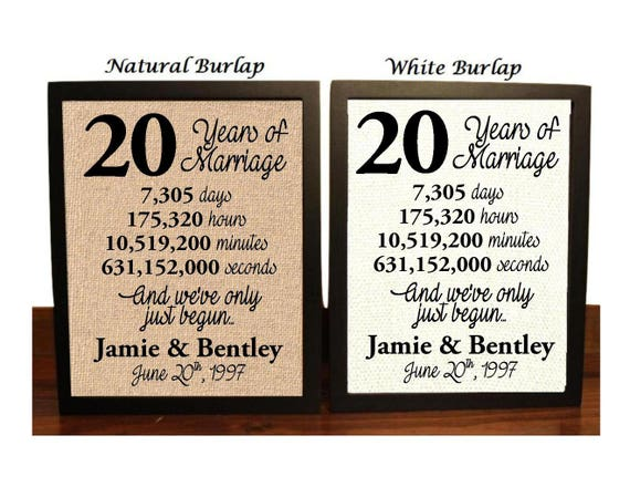23rd Wedding Anniversary Gift Ideas: 20th Wedding Anniversary 20 Year Wedding Anniversary 20th