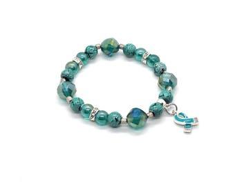 Panic Disorder Awareness - Panic Disorder Gift - Panic Disorder Bracelet - Panic Disorder Jewelry - Panic Disorder - Panic Disorder Ribbon