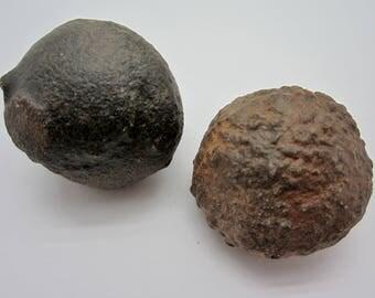 MOQUI MARBLE Pair Shaman Stone, Utah USA 114g