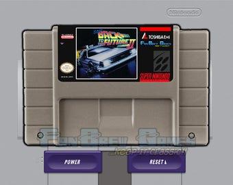 "SPECIAL ORDER! ""Super Back To The Future Part 2"" Unreleased English Super Nintendo SNES Platformer!"