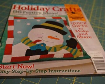 Holiday Crafts Magazine *Free with purchase, details below
