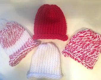Precious Baby Hats, Hade Knitted Baby Hats, Loom Hats, Knitted Hats, Hand Made Baby Hats, Vermont Made