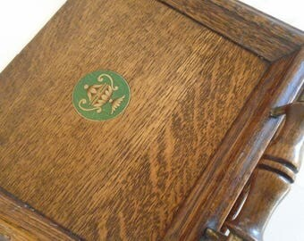 Oak crumb tray