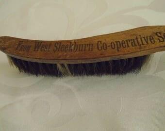West Sleekburn vintage crumb brush