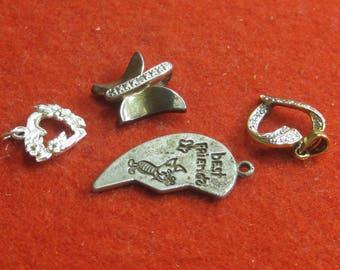 R- 34   Vintage pendants 4 items 2 are 925
