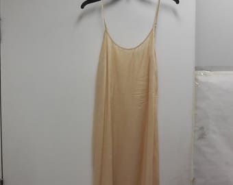 New Womens Cream  Free People Sateen Slip Size 4