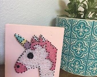 MADE TO ORDER Unicorn String Art