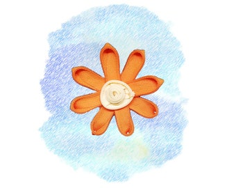 Small Zipper Flower # 3 - Wagamuffins exclusive Limited Edition Boho Bohemian chic Gifts for dogs