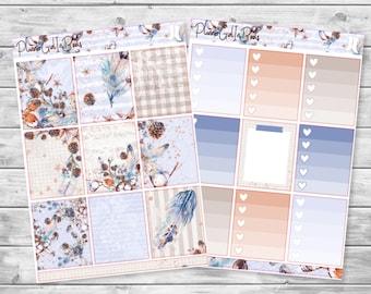 winter chillz planner sticker kit
