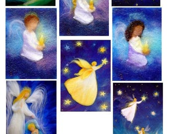 """""""Angels and fairies"""" cards"""