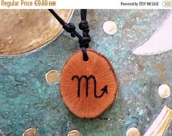 SALE 15% OFF Scorpio Zodiac Necklace, Star Sign Scorpio Necklace Zodiac Charm Astrology Jewelry, Horoscope, Birthday Gift, Personalized Gift