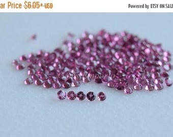 ON SALE Pink Tourmaline 2.5 MM Round Facted. Top Quality Gems. Priced by lot.