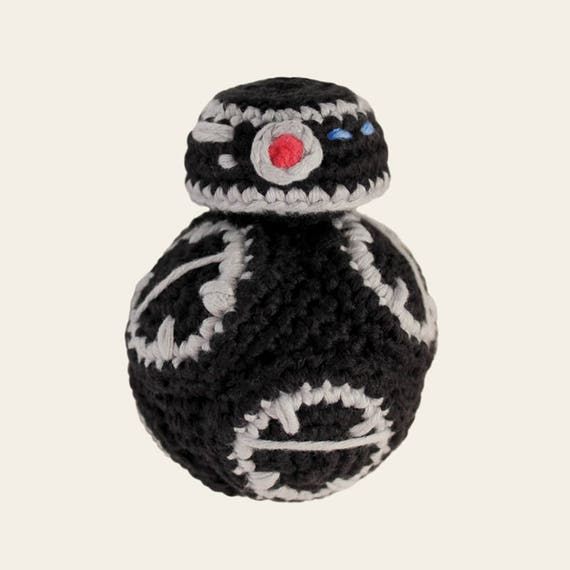 BB-9E - Star Wars. Crochet Doll, Amigurumi Toy, Crocheting, Made to Order, Droid, Robot, Spherical, Geek, Gift, Cinema