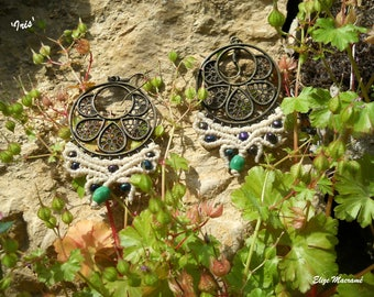 Earrings 'Iris'