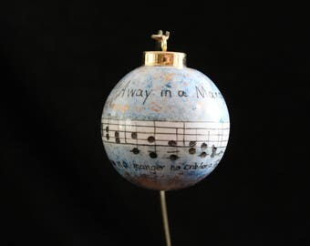 Away in a Manger Ornament
