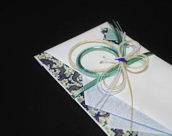 """50.Mizuhiki envelopes This envelope is used for each celebration. A special envelope called """"noshibukuro"""""""