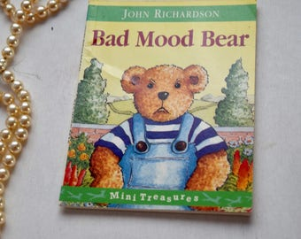 Three books, Bad Mood Bear, Two Monsters, Jesus' Christmas Party, pocket children's reading books, British authors, birthday gifts for kids