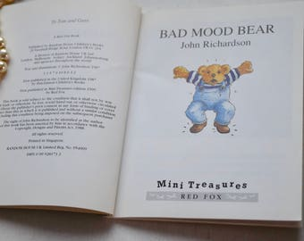 Three pocket children's books, Bad Mood Bear, Two Monsters, Jesus' Christmas Party