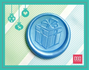 Christmas Present - Design OD Wax Seal Stamp (DODWS0411)