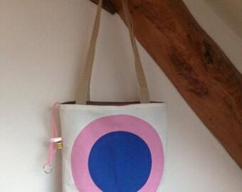 """Bag / Tote / reversible tote bag """"balloons"""""""