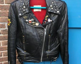 Lewis Leathers Aviakit Lightning Rockers Jacket