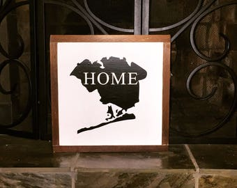 "Queens, NY ""home"" sign