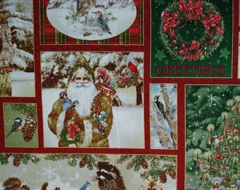 SALE** Old World Christmas - Per Yd - Susan Winget