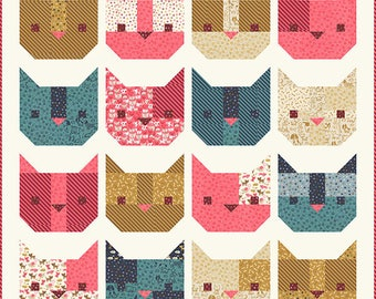 Woof Woof Meow - MODA Scrap Bag - Preview before November Release!!