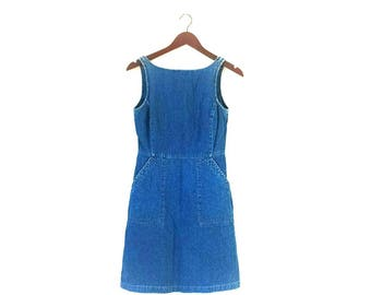 Vintage 1990s Esprit denim mini dress