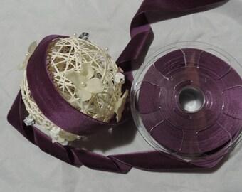 Velvet ribbon width 36 mm - Purple 89 / 1 m