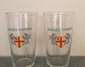 Custom Printed Pint Glasses (set of 2)