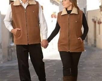 Alpaca and Wool Vest